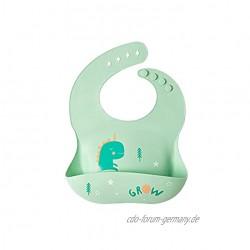 Baby-Silikon-Lätzchen Wasserdicht Waschbar Silikon-Lätzchen Enthält Kein BPA Geeignet Für Babys Kinder Und Kleinkinder S01