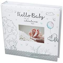 Widdle Celebrations Baby-Fotoalbum 10,2 x 15,2 cm für 200 Fotos Weiß Unisex